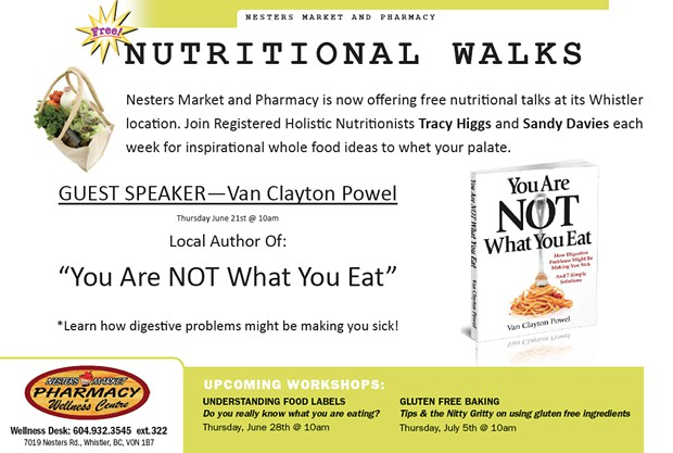 Free Presentation at Nesters Market Whistler
